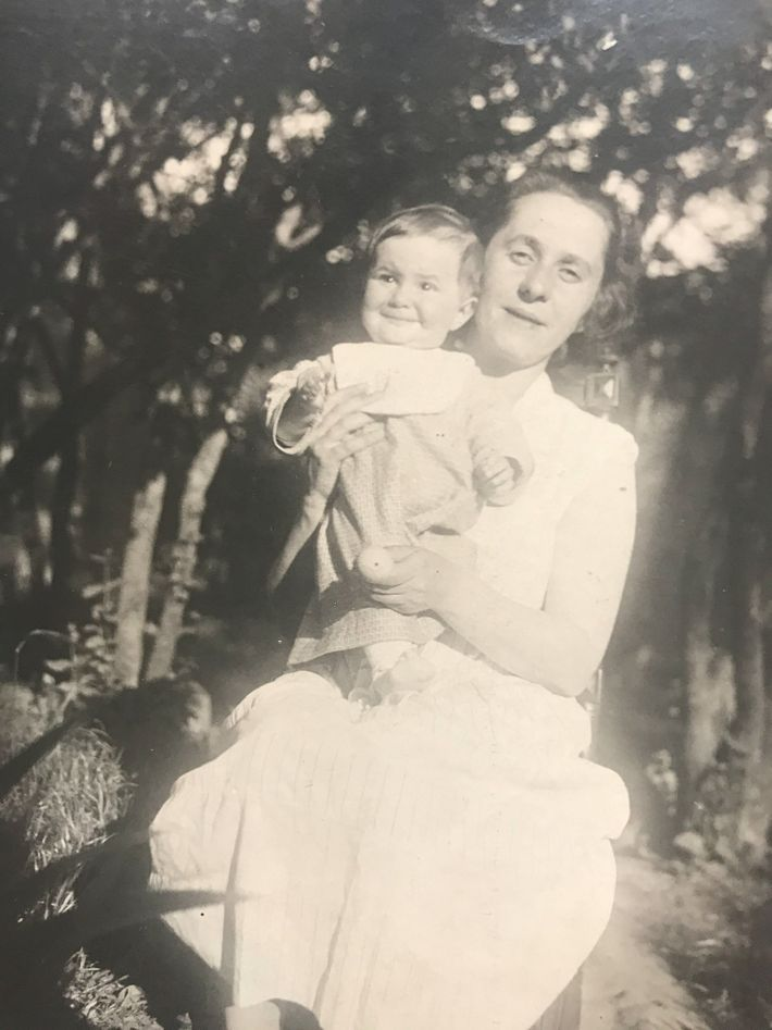 Helena y su madre Galina Vorobiova
