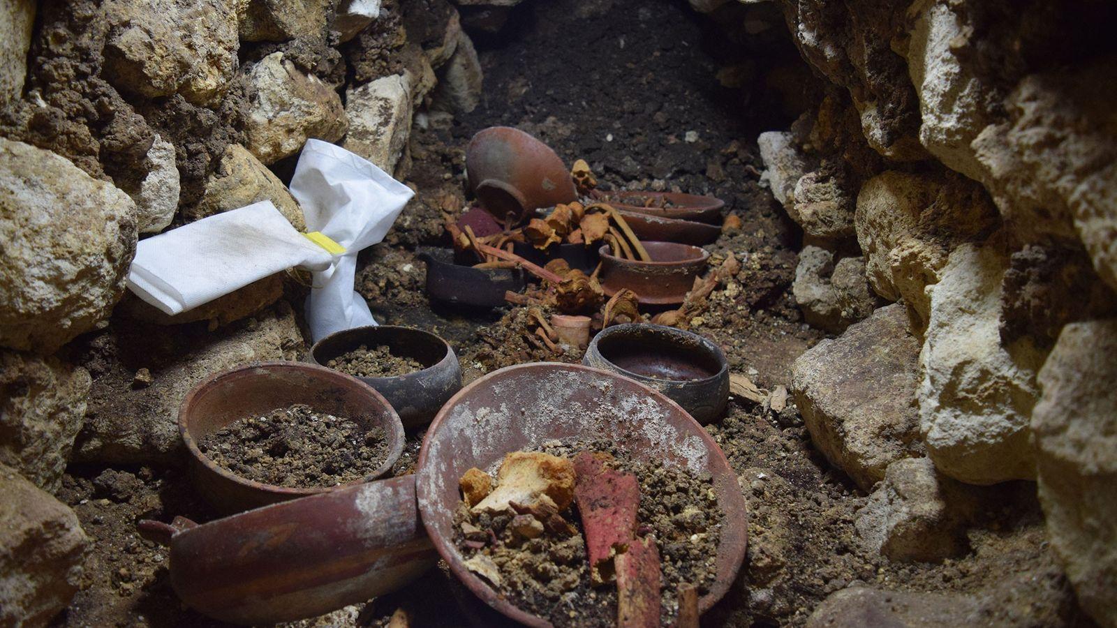 El yacimiento «Burial 80»