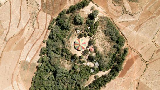La iglesia Debre Mihret Arbiatu Ensesa