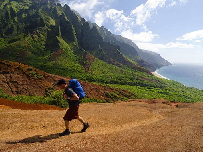 Paseo por la legendaria Costa de Na Pali, en Kauai