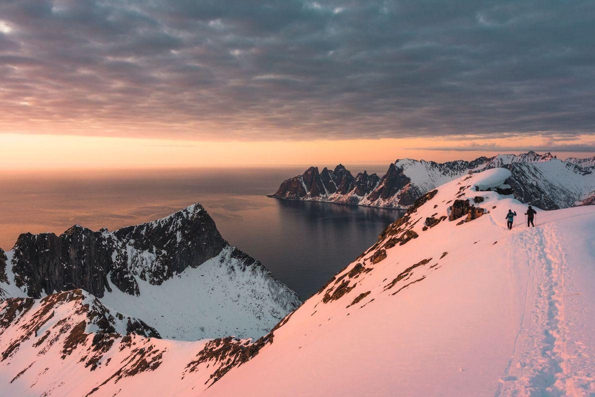 Husfjell, Senja, Noruega