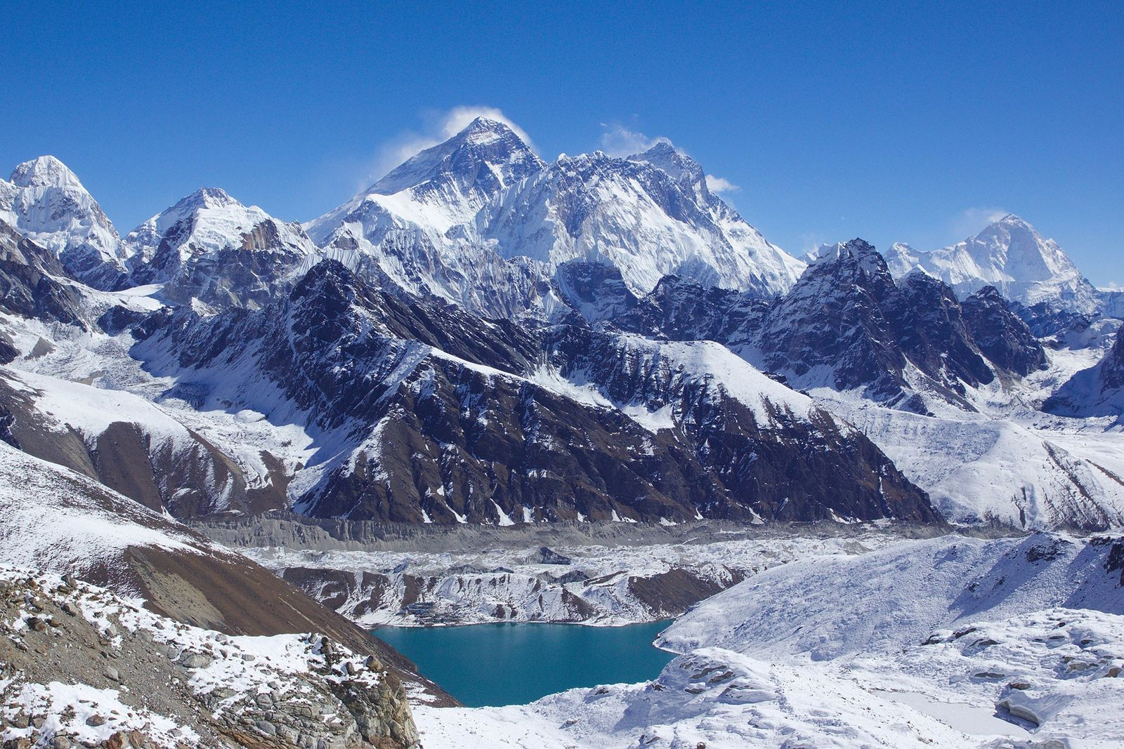 Everest, Lhotse y Makalu