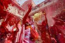La pintura roja