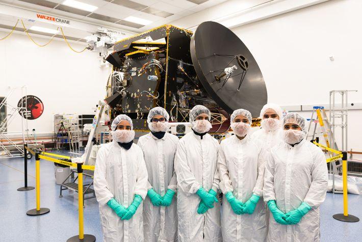 Equipo de la Emirates Mars Mission