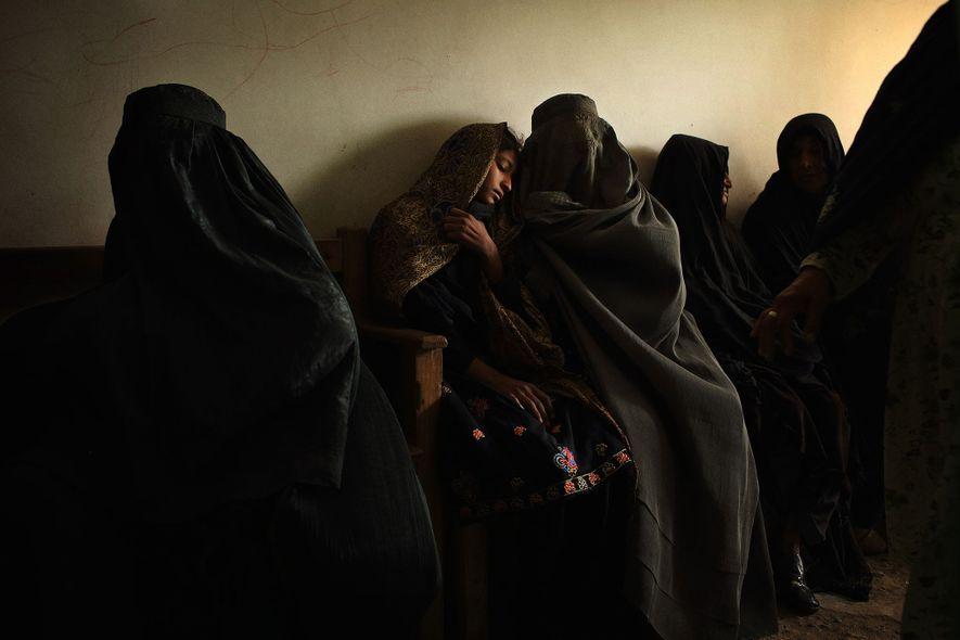 Sala de espera, Afganistán