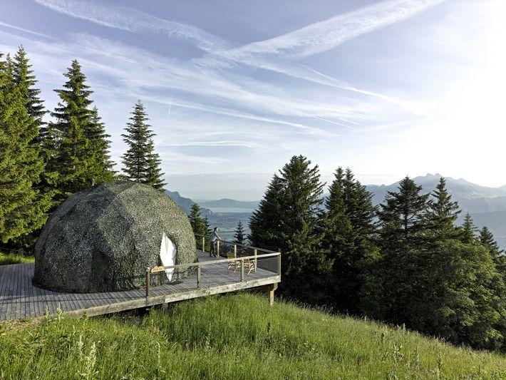 Hotel Whitepod, Suiza