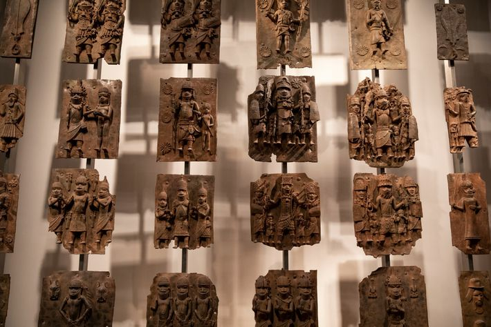 Las placas de latón del palacio real de Benín