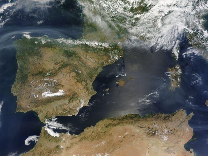 Humo incendios California España