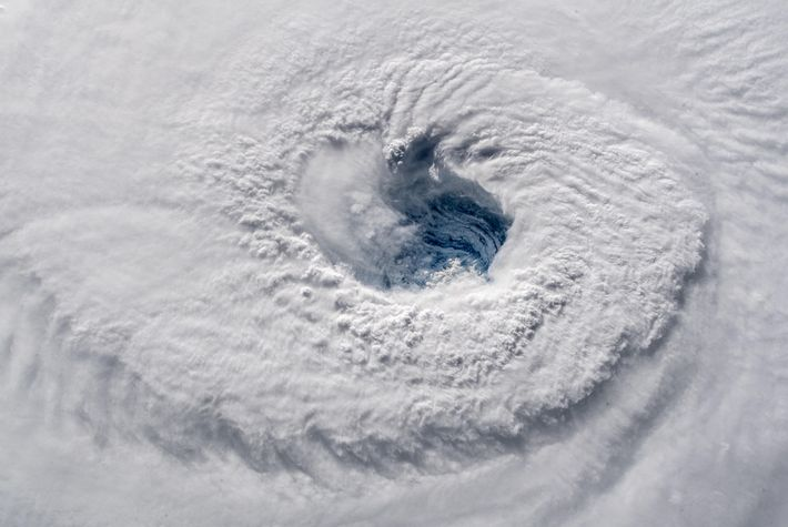 Imagen del huracán Florence