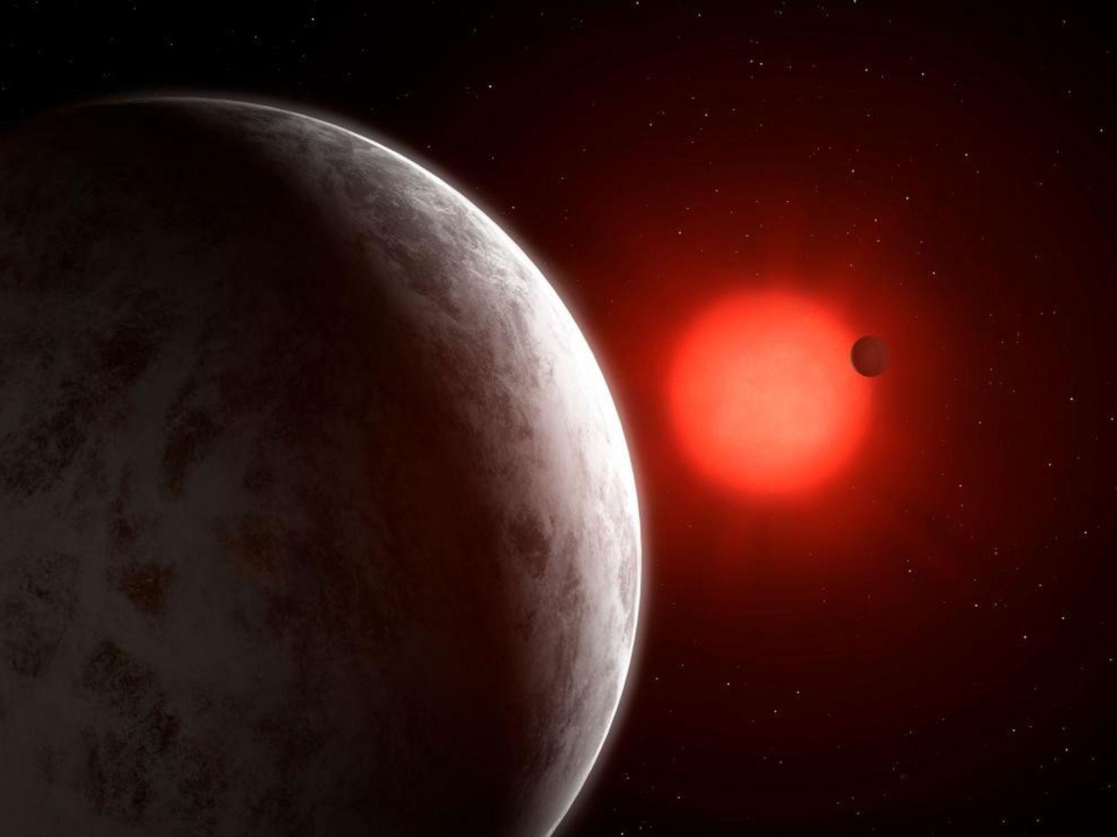 Junto a las dos supertierras, los hallazgos incluyen el posible descubrimiento de un tercer planeta que podría ...