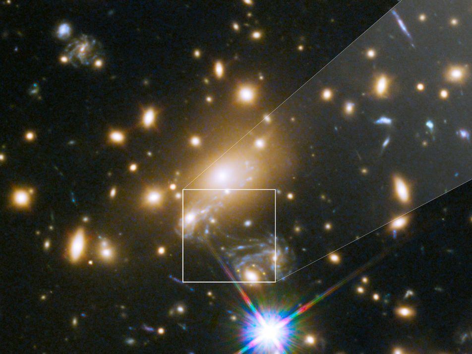 Esta es la estrella más lejana observada por los humanos