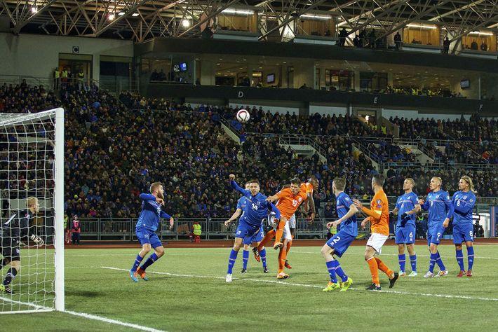 Islandia contra los Países Bajos