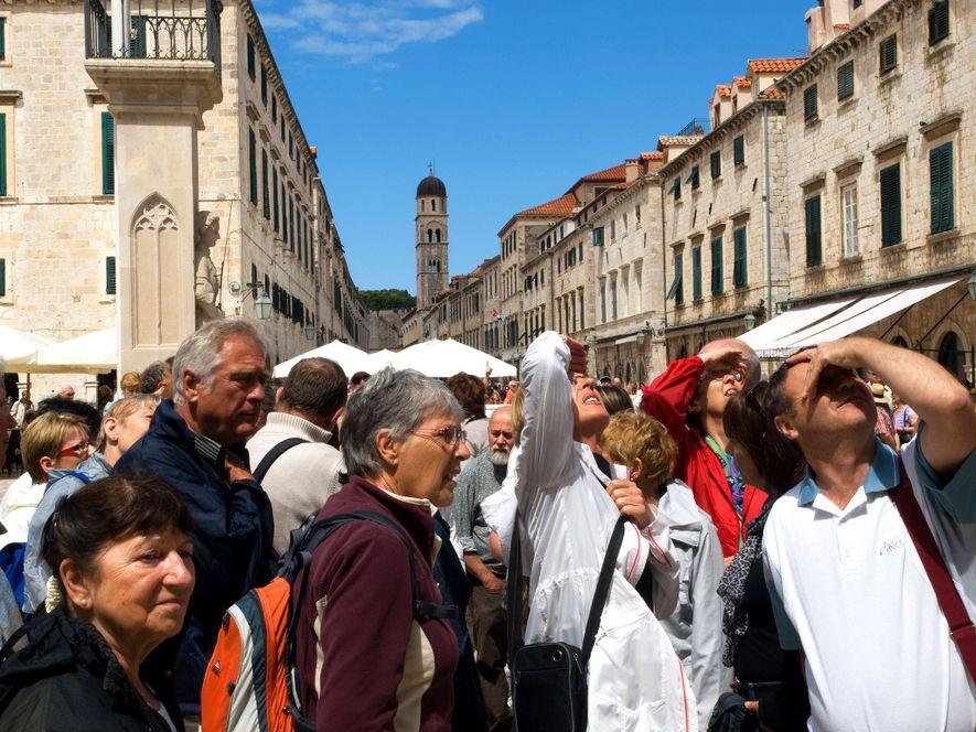 Dubrovnik invadido por los turistas.