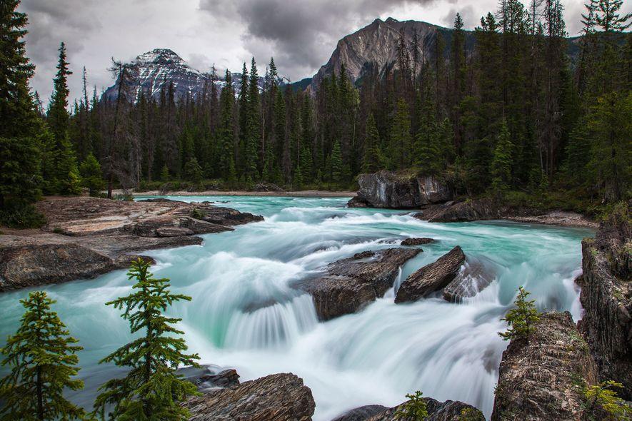 Opta por cruzar la frontera a la Columbia Británica para adentrarte en la naturaleza del parque nacional de Yoho.