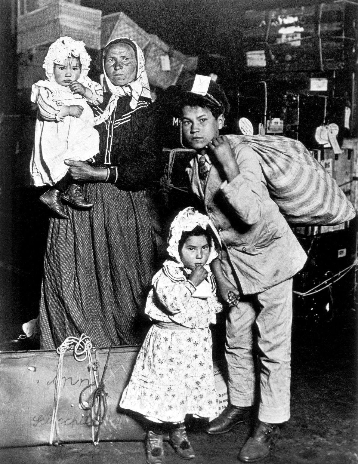Una familia de inmigrantes