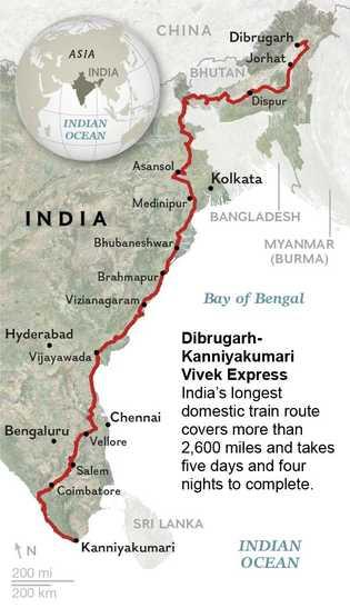 Mapa trayecto