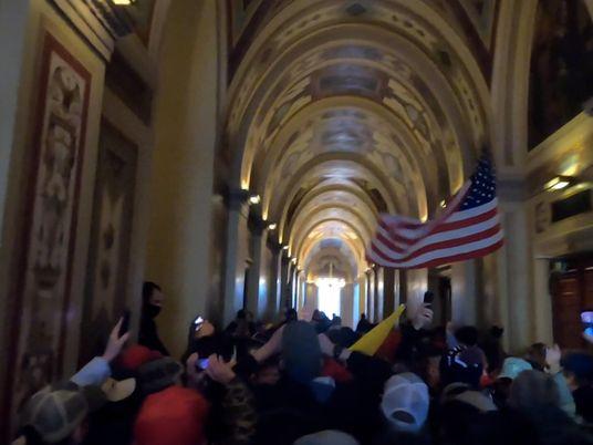 Imágenes del asalto al Capitolio tomadas por un fotógrafo de Nat Geo