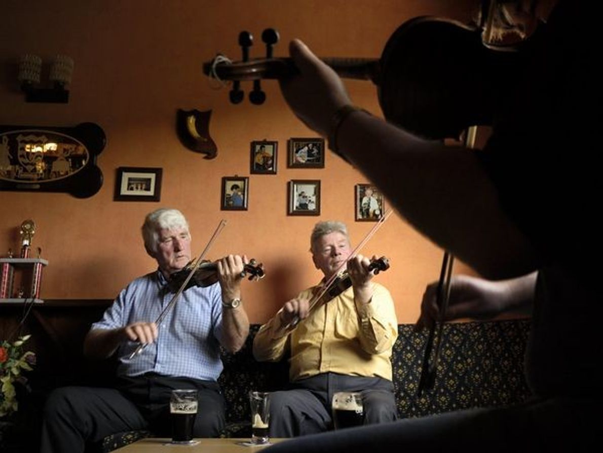Violinistas irlandeses