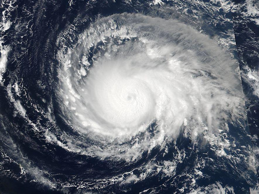 El 4 de septiembre, a las 17:24 UTC, el satélite Suomi NPP de la NASA y la NOAA capturó esta instantánea del huracán Irma cuando tenía categoría 4 mientras se aproximaba a las islas Leeward.