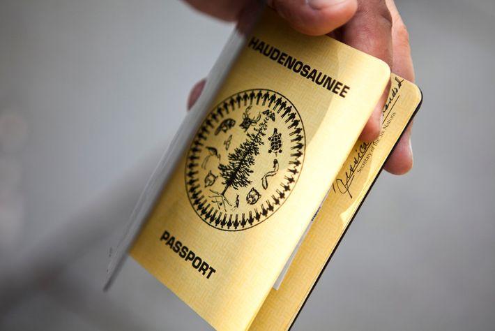 Pasaporte haudenosaunee