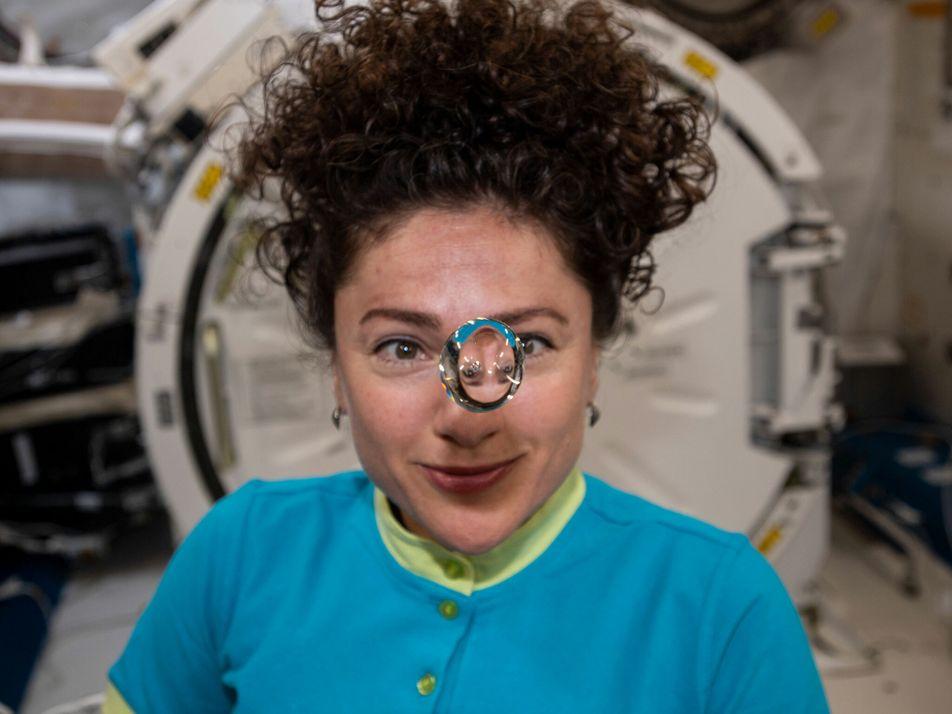 Los astronautas de la misión Artemisa