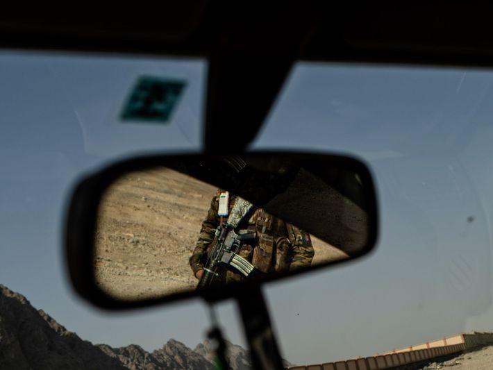 Los talibanes en Kandahar