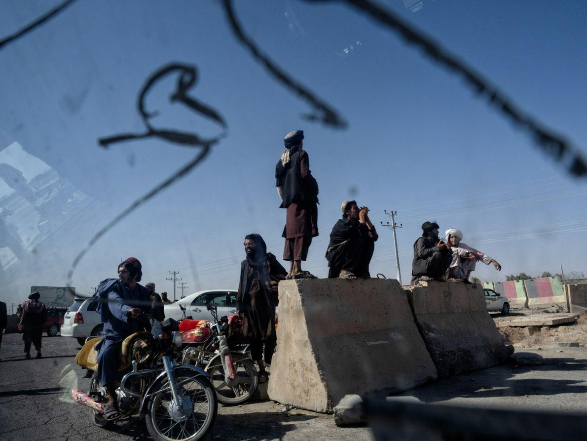 Talibanes en Kandahar
