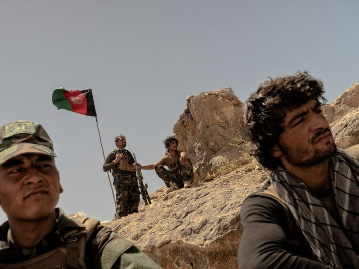 Soldados afganos en Kandahar