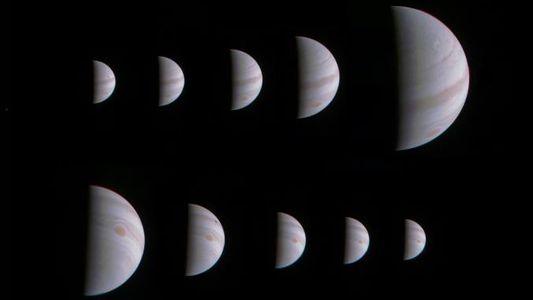 Las nuevas imágenes de la misión Juno de la NASA