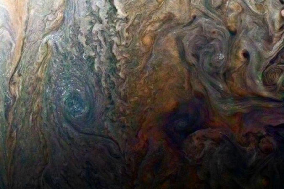 Una «galaxia» joviana