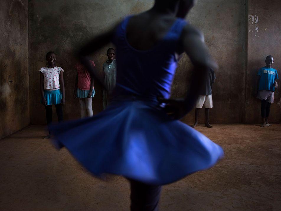 Las jóvenes bailarinas de Kibera, en Nairobi