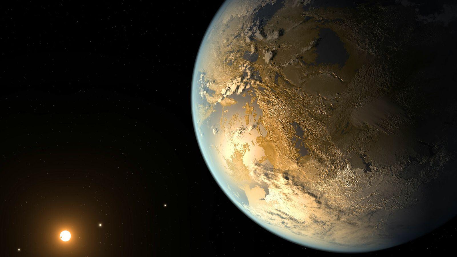 Ilustración del Kepler-186f