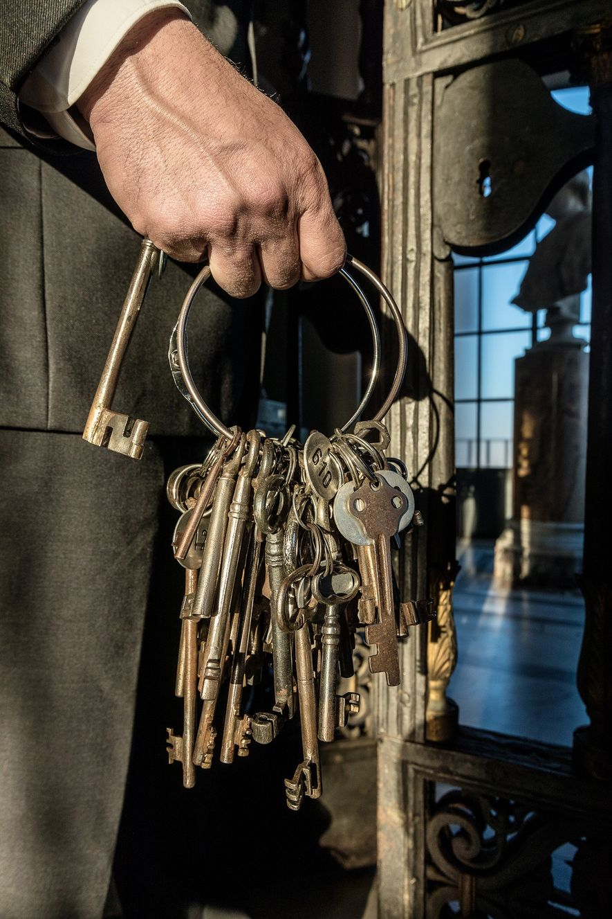 «Tengo las llaves, en sentido figurado, de la historia de la Cristiandad, tanto la historia cristiana ...
