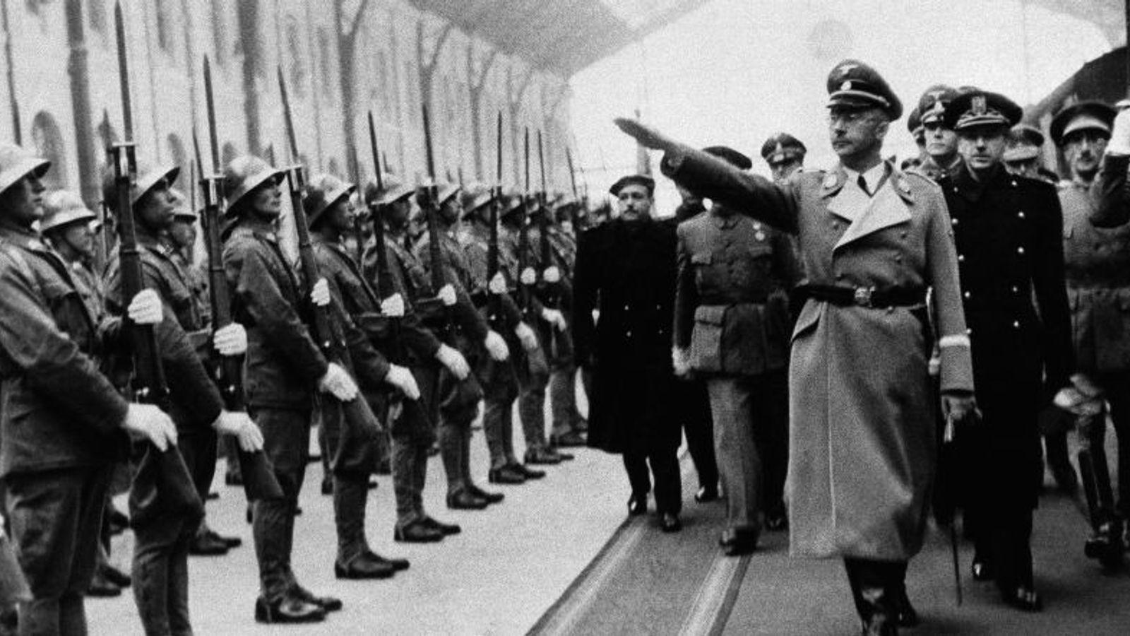 Himmler en Madrid