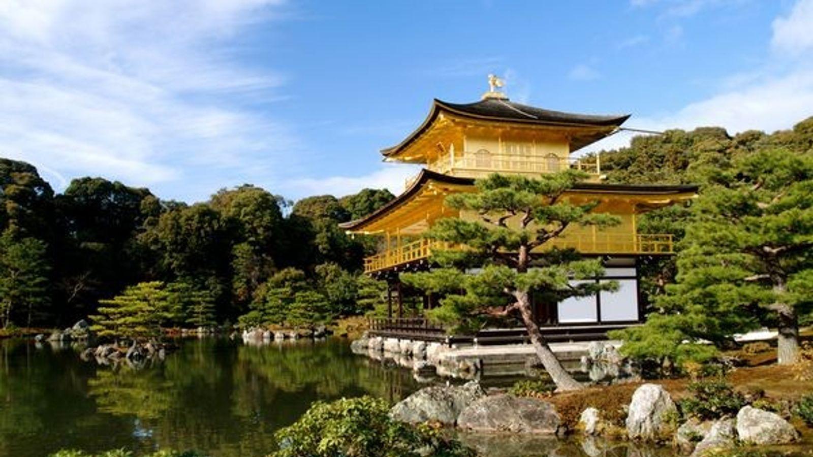 Fotografía: El Kinkakuji (Pabellón de Oro), Japón