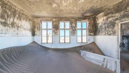Imágenes de Kolmanskop, Namibia