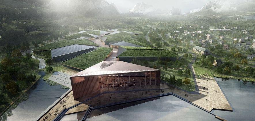 El centro de datos Kolos, ubicado en Noruega para facilitar su refrigeración, tendrá 600.000 metros cuadrados ...
