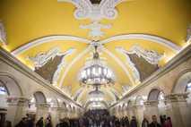 Estación de metro de Komsomolskaya