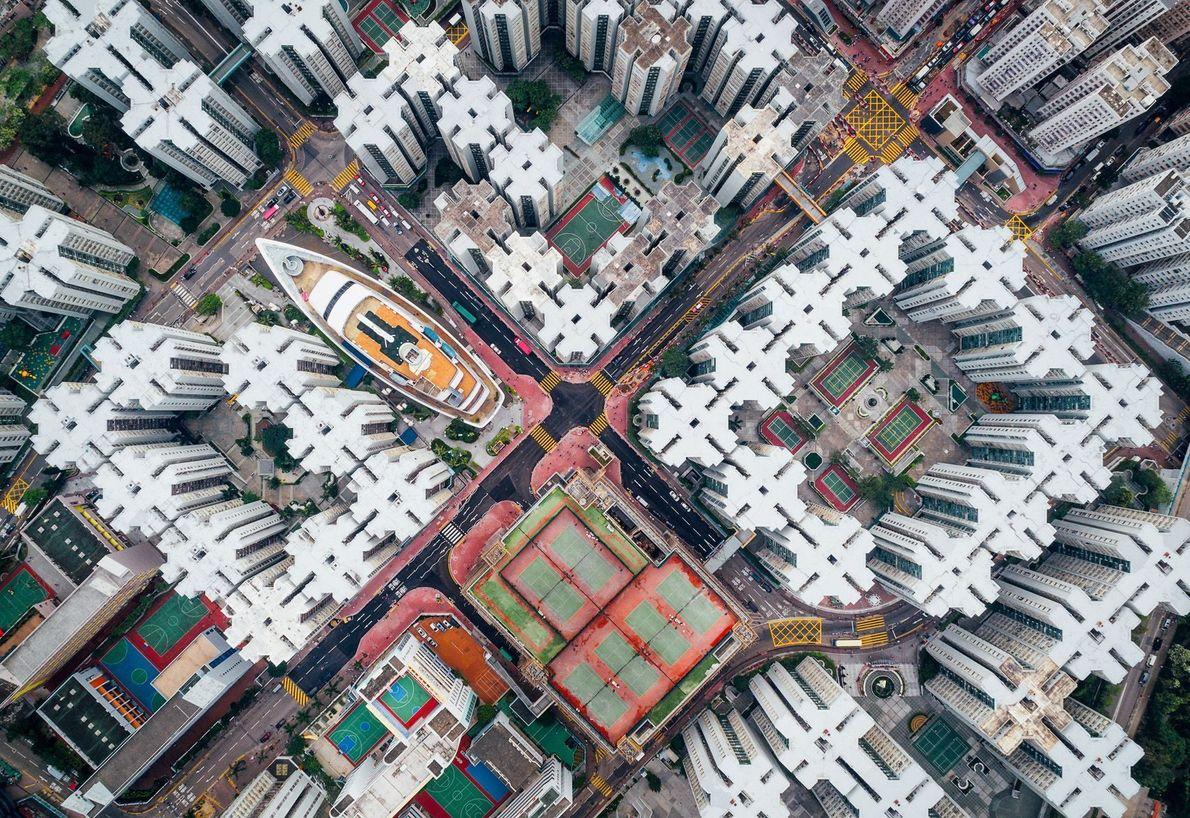 Ciudad amurallada de Kowloon, Hong Kong