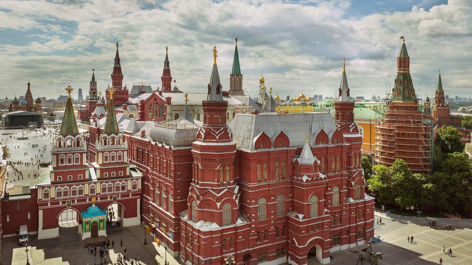 El Kremlin y la Plaza Roja
