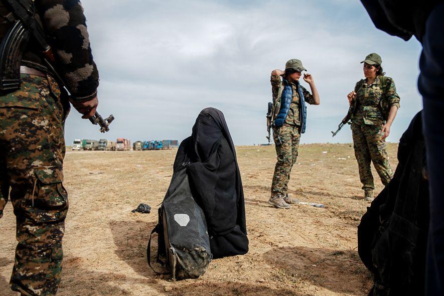 Soldados kurdas