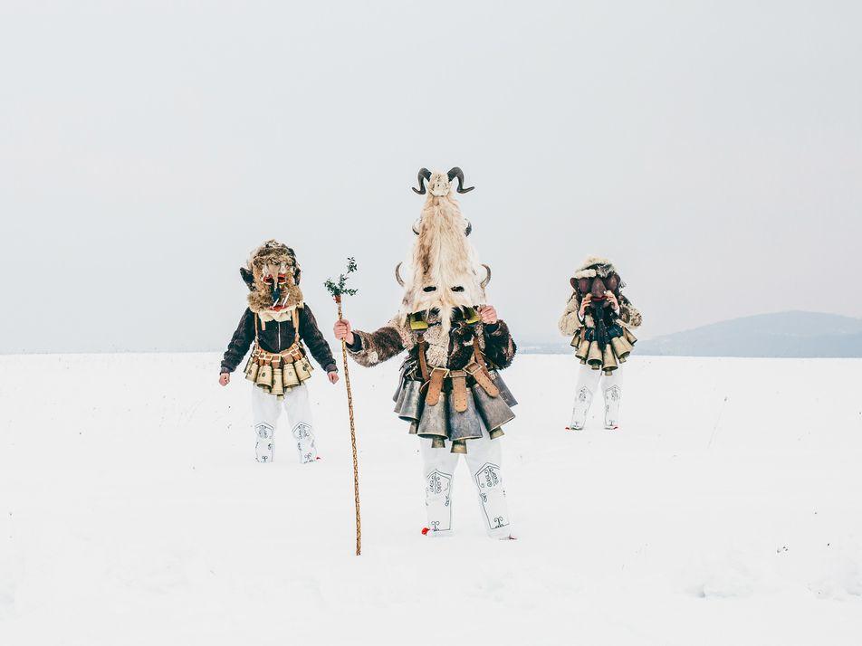 Los festivales kukari en Bulgaria