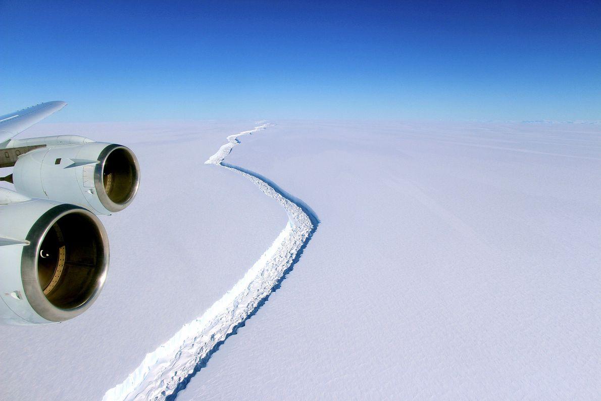 Barrera de hielo Larsen C, Antártida