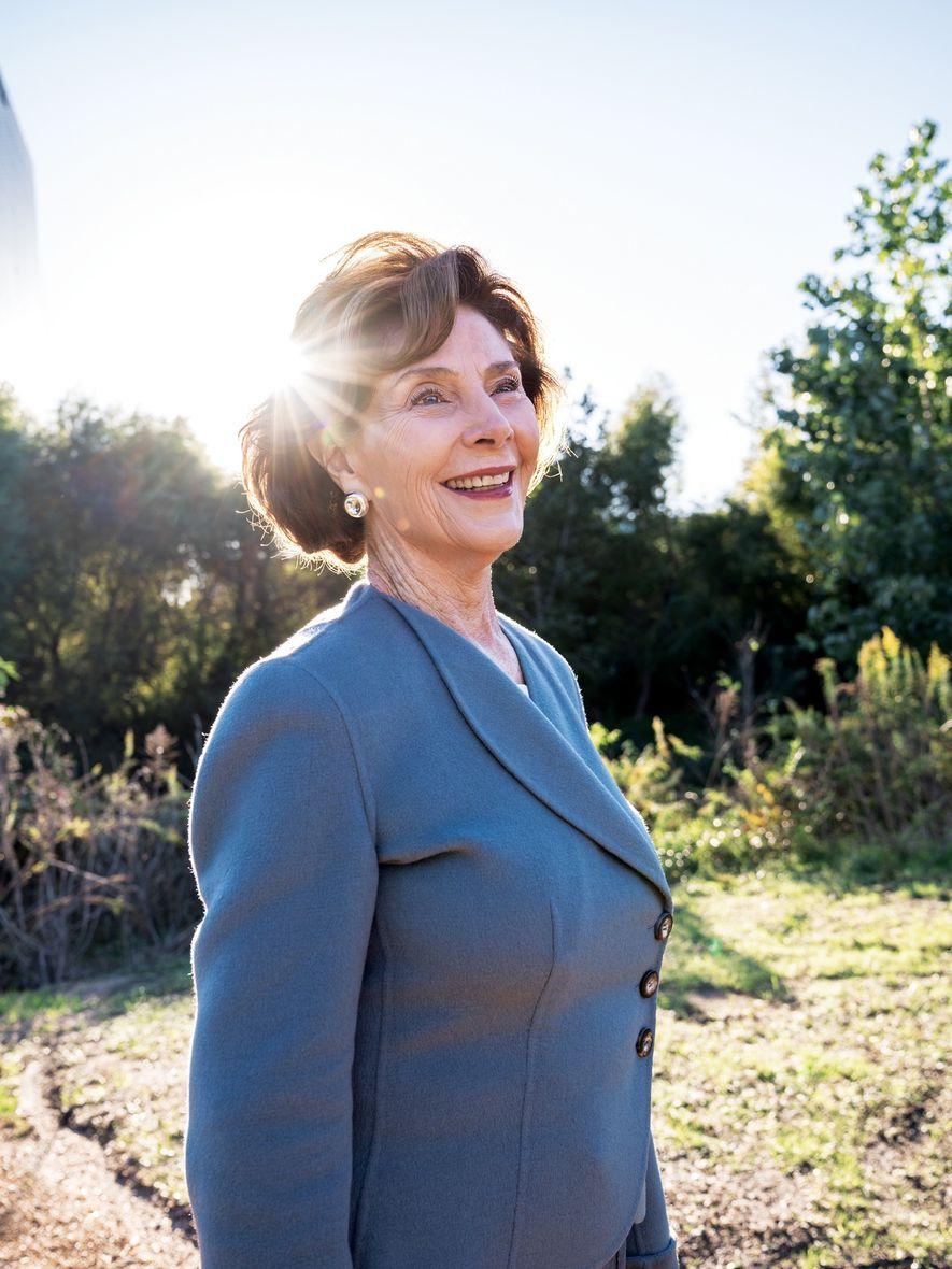 Laura Bush, ex primera dama y educadora.