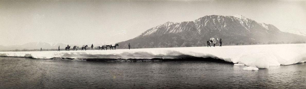 Una expedición topográfica