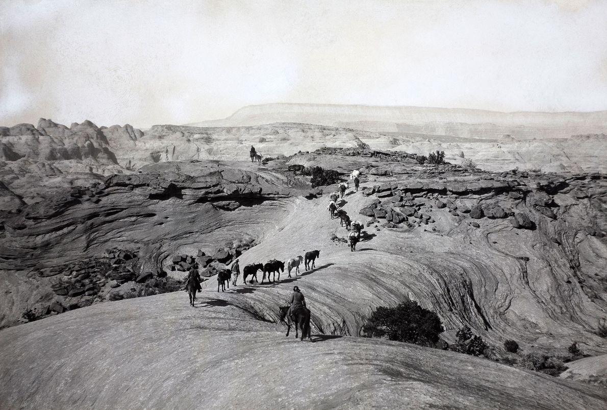 Los exploradores de la Expedición Pueblo Bonito