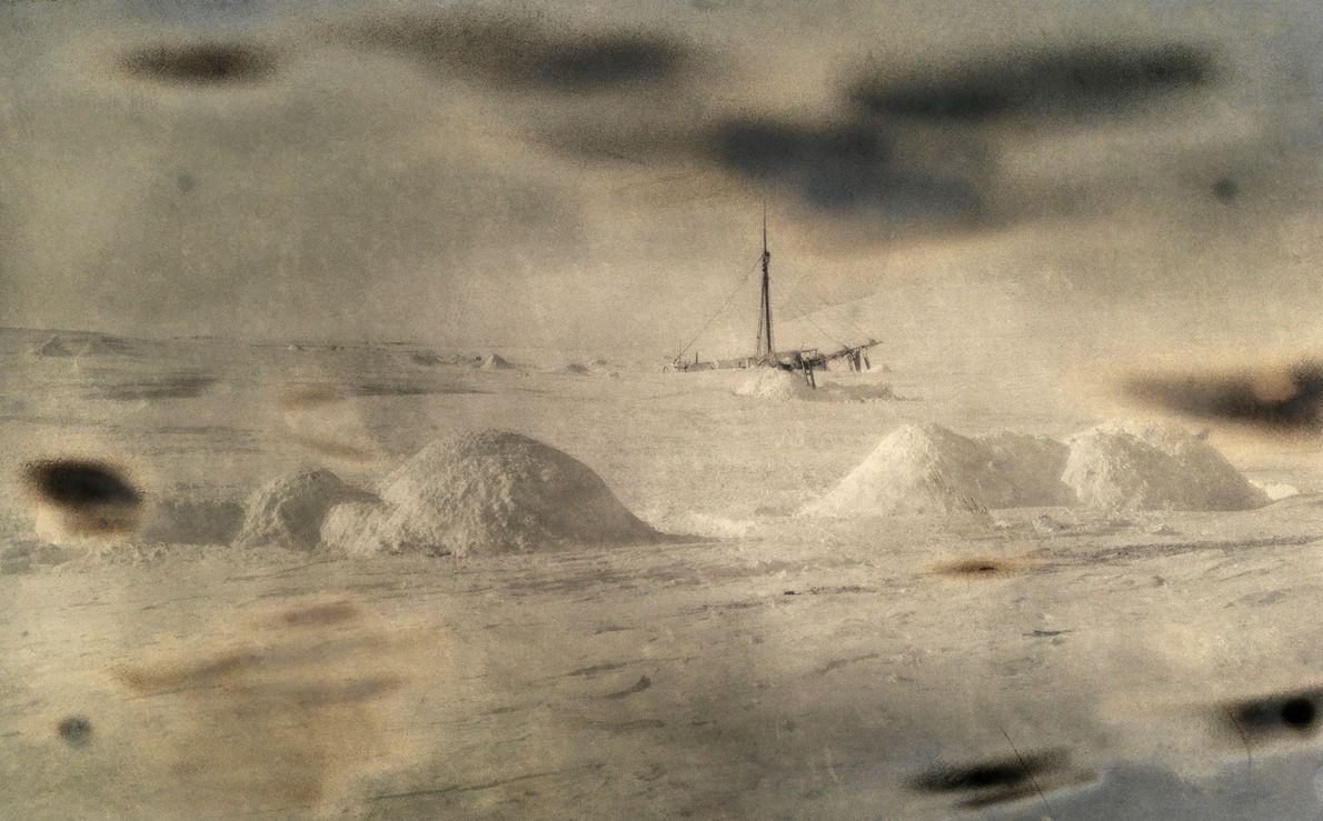 El barco de Roald Amundsen