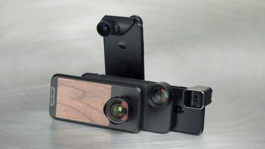 Accesorios para la cámara de tu teléfono móvil