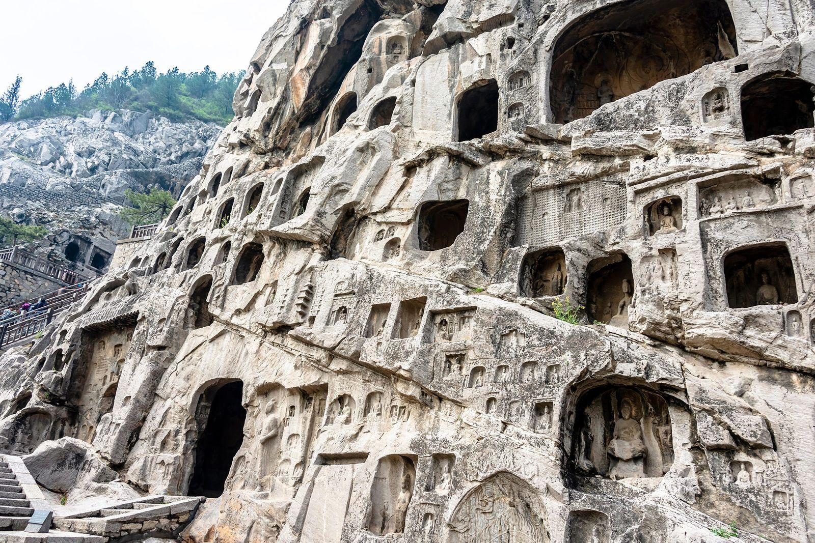 Las grutas de Longmen