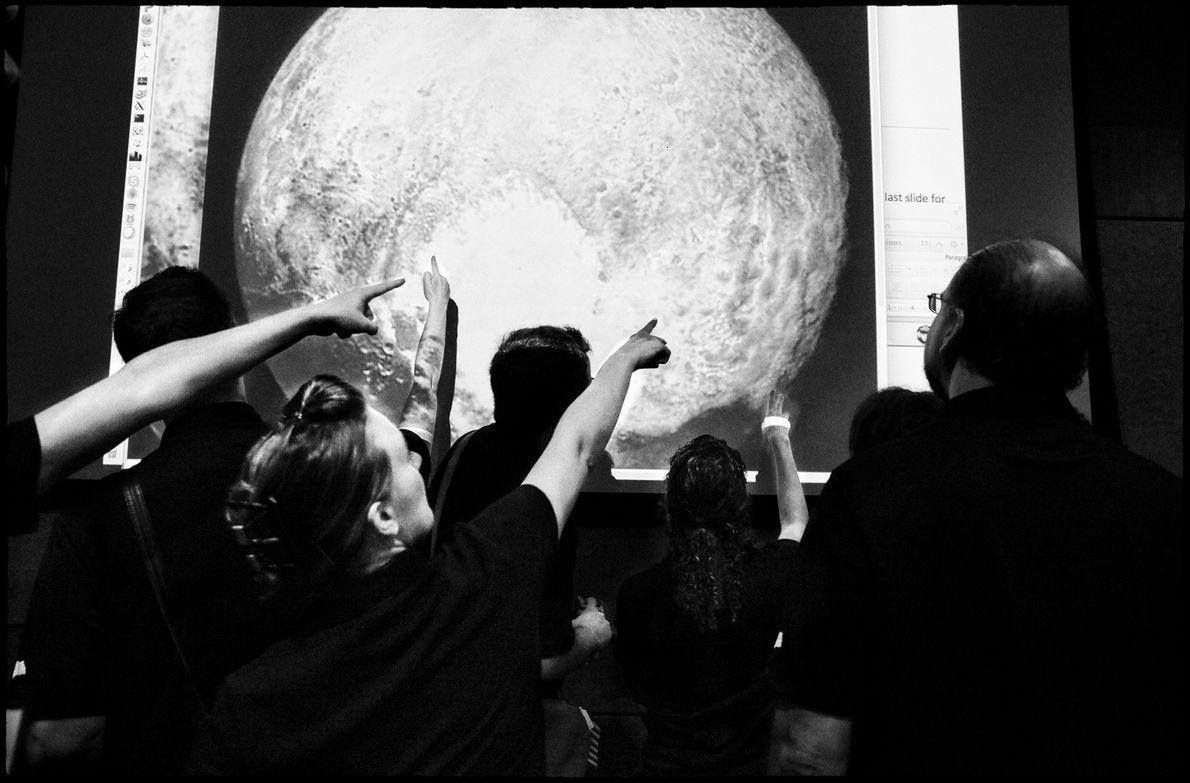 El equipo de New Horizons